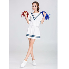 SESERIA Fancy Dress Costume Cheerleader Costumes Girls Cheerleader Uniform School Girl Costume