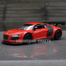 1:32 DIECAST METAL CAR MODEL TOYS AUDI R8 REPLICA SOUND & LIGHTS(China)