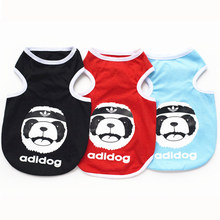 Cheap brand name dog vest adidogs clothes  for dogs costume pet clothes for chihuahua yorkshire free shipping