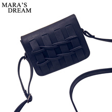 Mara's Dream Women Small Vintage Leather Flap Handbags Ladies Party Purse Clutches Women Crossbody Shoulder Evening Bags