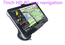 Xster free shipping2017 new 7 inch Car GPS Navigation 800MHZ FM/8GB/DDR 128M New Maps Navitel Russia Europe truck gps navigator