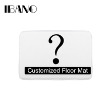 Bathroom Customized Mat Printed Bathroom Kitchen Carpets Doormats Floor Mat for Living Room Anti-Slip Tapete(China)