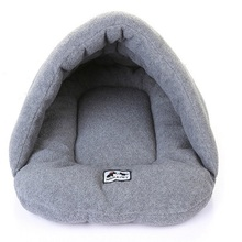 Pet Beds For Dog Cat Cotton Dog Bed for Teddy Bichon Pekingese Snow Rena Cat Dog Basket Dog Beds House Home Goods For Pet(China)