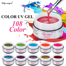Lily angel New 15g Professional UV Gel Strong Builder Gel For Extending Nail LED Gel Nail Polish Manicure Extension Gel Polish(China)