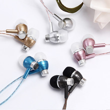 Hot New Sale Perfume Earphone 3.5mm scented Wired Sport Headset Super Bass Stereo Earpiece With Mic For iPhone Xiaomi Samsung