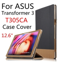Case For ASUS Transformer 3 T305CA Protective Smart cover Protector Leather Tablet PC T305 UA PU Sleeve 12.6 inch Covers Holste