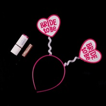 New bride to be hen party headband wedding favors and gifts sex products bachlorette party supplies 50% off if buy 5pcs