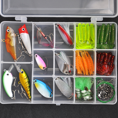 Free shipping lures hard  bait suit with sequins soft bait lures Lure bait suit fishing gear<br>