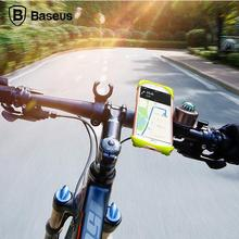 Baseus Universal Bicycle Holder For iPhone 6 6S 7 Plus Samsung huawei opp Bicycle Phone Holder Smartphone Bicycle Mount Holder