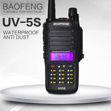Baofeng UV-5S walkie talkie equipment  2800mAh battery 8w CB ham radio for hunting 128ch long distance radio comunicador 10 km