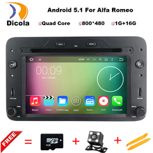 Android 5.1.1 Quad core RK3188 cpu car dvd player For Alfa Romeo Spider Alfa Romeo 159 Brera 159 Sportwagon with GPS WIFI 3G BT(China)