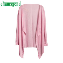 CHAMSGEND Good Deal 2017 Summer kimono Women Long Thin Cardigan Modal Sun Protection Clothing Tops 1pc *30
