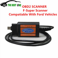 2017 Top Quality For Ford F-super Scanner Works For Ford With Multi-function Hot Sale OBD2 Diagnostic Tool(China)