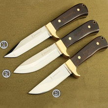 Browning Three Brothers 57HRC 7Cr17 blade Outdoor save survival camping tool multi-function Fixed knife