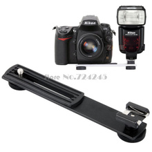 Camera Hot Shoe 1/4 Flash Bracket For DV/Digital Camera Adapter Mounting Photo Studio Accessories