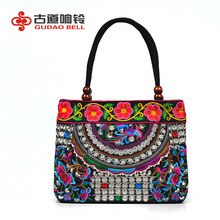 ethnic handbag embroidery bag grip gripesack bags pattern handmade canvas bag detail pattern for women's handbag drop shipping