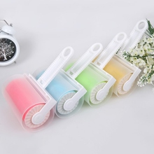 Home Washable Sticky Hair Clothes Buddy For Wool Dust Catcher Carpet Sheets Sucking Sticky Dust Drum Lint Roller(China)