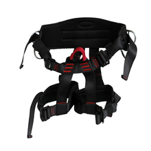 Durable 22KN Harness Bust Seat Belt Outdoor Rock Climbing Harness Rappelling Equipment Harness Seat Belt Mountain Safety Belt(China)