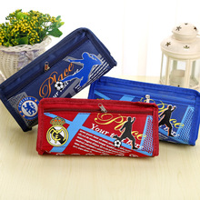 Stationery Football style Pencil Case Pencil Bag School pencilcase Office School Supplies Pen bag Pencils Writing Supplies Gifts