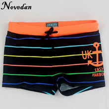 2017 New Summer Kids Boy Swim Cute Striped Trunks Baby Children Swimming Shorts Boys Beach Swimwears Boy's Clothing