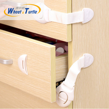 5Pcs/Lot Infant Baby Children Kids Care Safety Security Protect Locks Products For Cabinet Drawer Wardrobe Doors Fridge Toilet