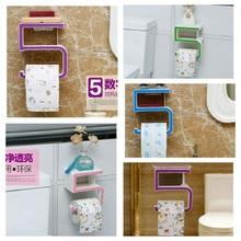 Plastic Suction Cup Paper Towel Holder Kitchen Toilet Roll Bathroom Wall Mount Toilet Accessories Toilet Tissue Holder