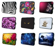 "10"" Laptop Sleeve Pouch Bag Mini PC Computer Notebook Bag For Chuwi Huawei HP IPad Air Case 9.7"" 10.2"" Android Tablet Cover Bag(China)"
