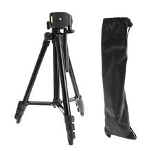 Universal Flexible Portable Aluminum Alloy DV DSLR Camera Tripod For Canon Sony Nikon Digital Cameras With pan head Nylon Bag