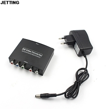 JETTING Newest 1080P HD Clear HDMI To RGB Component YPbPr video and R/L audio Adapter Converter Drop Shipping