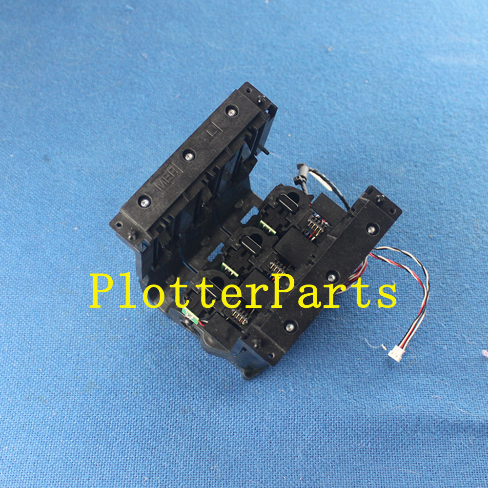 CR357-60077 CR357-67028 Left ink supply station for HP DesignJet T1500 T2500 T2500PS T920 plotter parts Original used