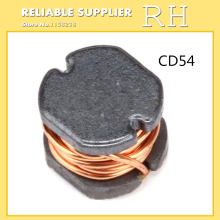 100PCS/lot SMD power inductors CD54 5.8*5*4.5mm 2.2UH 3.3UH 4.7UH 6.8UH 10UH 22UH 33UH 47UH 68UH 100UH 150UH 220UH 470UH(China)