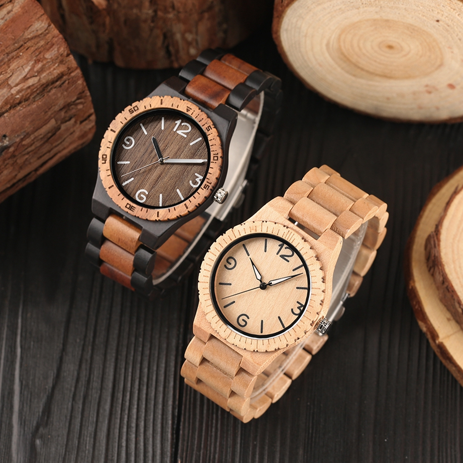 Men\`s Retro Full Wooden Creative Watch Man Quartz Novel Wood Sports Watches Mens Genuine Leather Hour Clock Gifts Reloj Hombre (35)