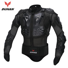 DUHAN Men's Motorbike Motorcycle Protective Body Armour/ Armor Jacket Guard Bike Bicycle Cycling Riding Biker Motocross Gear(China)