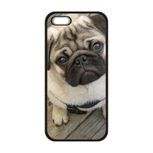 Funny Toy Dog Pug Best Durable Cover Case for iPhone 4 4S 5 5S 5C 6 6S Plus Touch 5 Samsung Galaxy S3 S4 S5 Mini S6 S7 Edge Case(China)