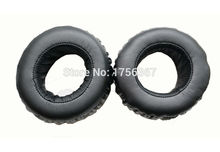 Ear pads replacement cover for SONY MDR-XB500 Headphones(earmuffes/ headset cushion) earpads Black earbuds(China)