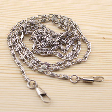 "20pcs 120CM/ 47"" long Silver Metal Chain for Purses/Bags DIY ,Hight Quality Purse Accessory ,Freeshipping(China)"