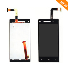 Black For HTC Windows Phone 8X LCD touch screen with digitizer display Assembly Repair Parts , Free shipping !!!