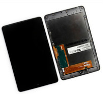 For ASUS Google Nexus 7 ME370T 2012 WIFI LCD Display Panel Screen Touch Screen Assembly With Frame