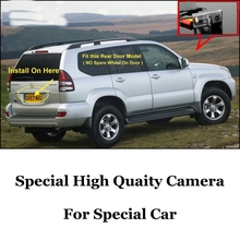 Car Camera For TOYOTA Land Cruiser LC 120 LC120 Prado 2002~2009 High Quality Rear View Back Up Camera For Fans Use| CCD + RCA