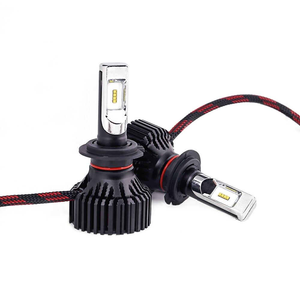CN360 2PCS Car LED Light Headlight H4 H7 H8 H9 H11 9005 HB3 9006 HB4 12V 6500K LED Auto Bulb Headlamp Fog Lamp 60W 8000LM 13
