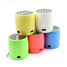 Hot Sale New Digital Mini Portable Wireless Drump Shape Bluetooth Speaker with great sound for phone Free Shipping