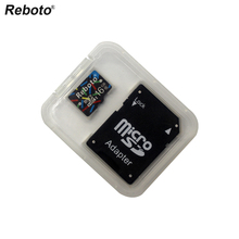 New Reboto Micro SD Card 4G 8GB mini sd card 16GB 32GB 64GB Class 10 Memory Card Flash TF card for cell Phones Tablet Camera(China)