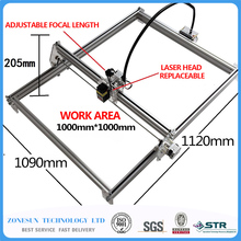 5500MW AS-3 big work area 100*100cm DIY laser mcahine, laser engraving machine,cnc laser machine , advanced toys , best gift