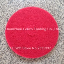 Sponge Polishing Pad 17 inch Floor Cleaning Pads Fiber Marble Pad Soft to Make Cleaned Concrete Floor Become Shiny 5 Pcs/lot(China)