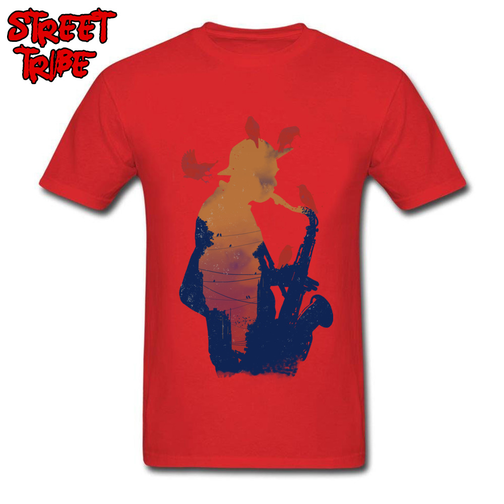 Mens Top T-shirts Even Birds Love it Crazy Tops T Shirt 100% Cotton Round Neck Short Sleeve Casual Tees Thanksgiving Day Even Birds Love it red