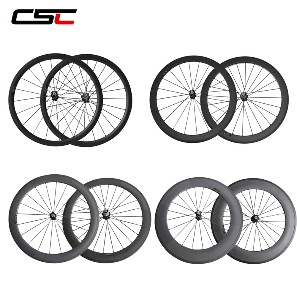 CSC 24mm tubular carbon bicycle road rim with from China factory