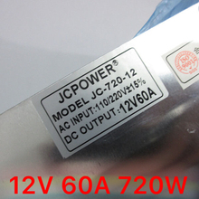 wholesale 12V 60A AC to DC Switch Power Supply Transformer for LED Strip AC110/240V for CCTV PSU Lighting Transformers