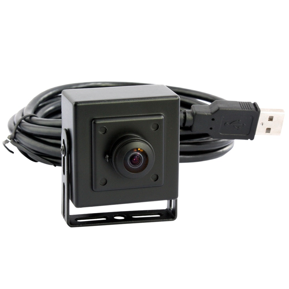Android, Linux, Windows 720P hd H.264 30fps cmos ov9712 mini 170degree wide angle fisheye cctv usb camera for PC computer<br>