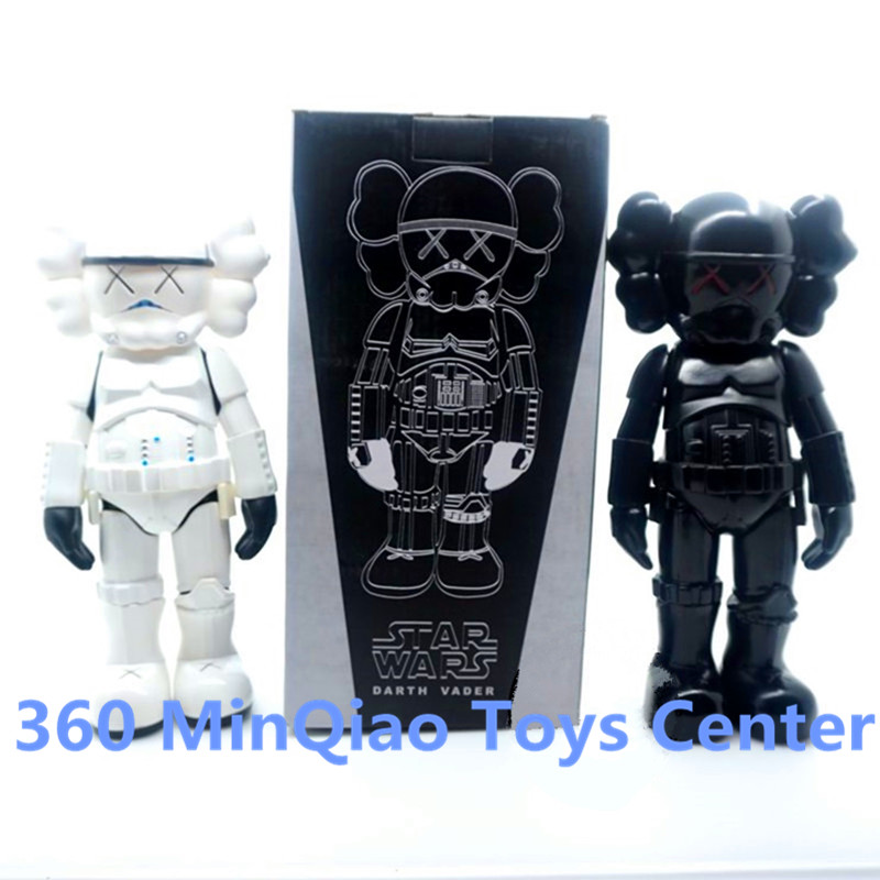 New Arrival KAWS Star War Stormtrooper Darth Vader Be@rBrick PVC Action Figure Collectible Model Toy Boxed WU999<br><br>Aliexpress