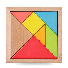A large wooden jigsaw puzzle The kindergarten pupils expand educational toys children game